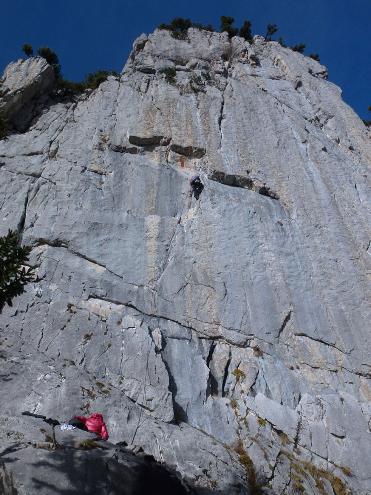 Kleiner Klettergarten Wildhuser Schafberg